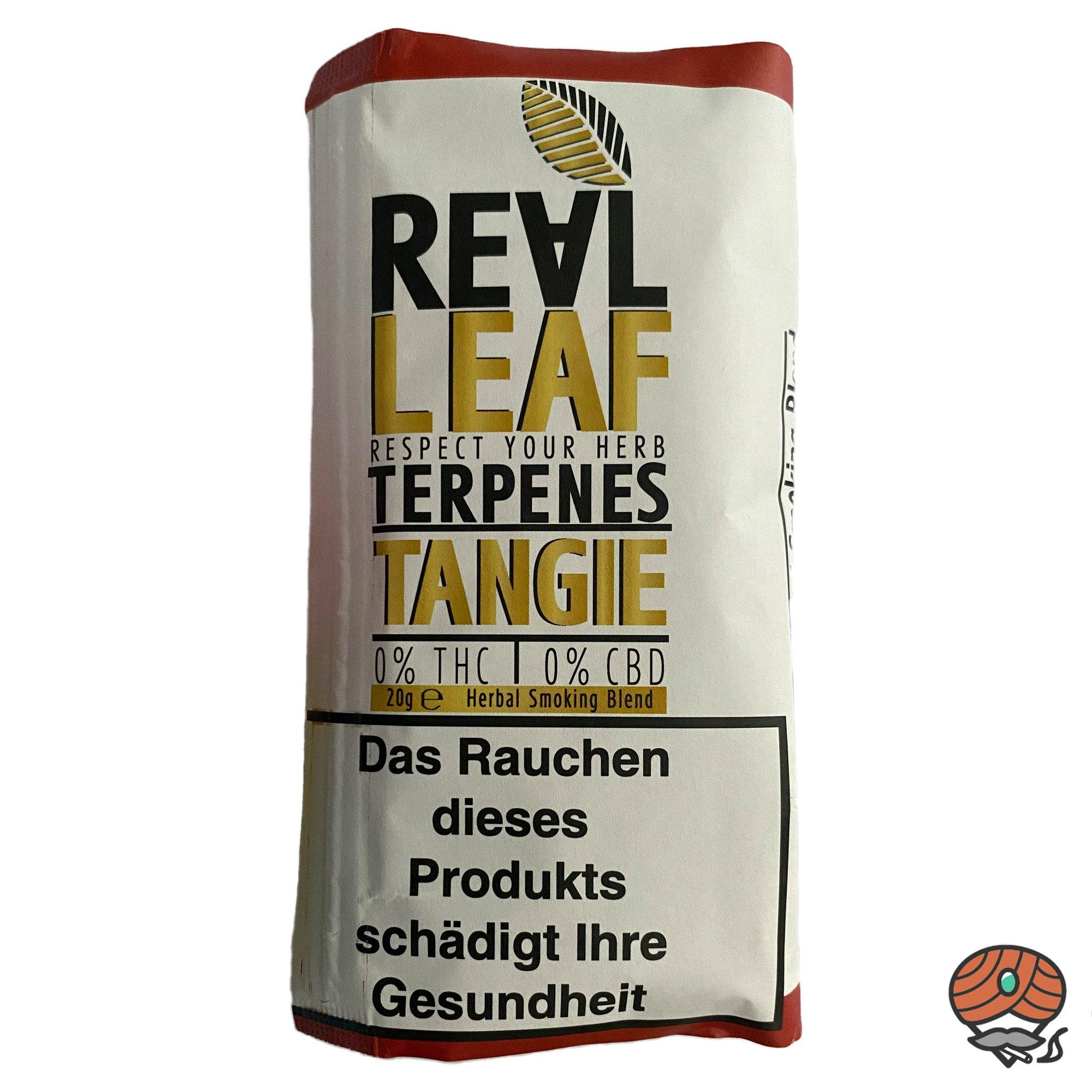 Real Leaf TANGIE, Tabakersatz, nikotinfrei, Kräutermischung 20g
