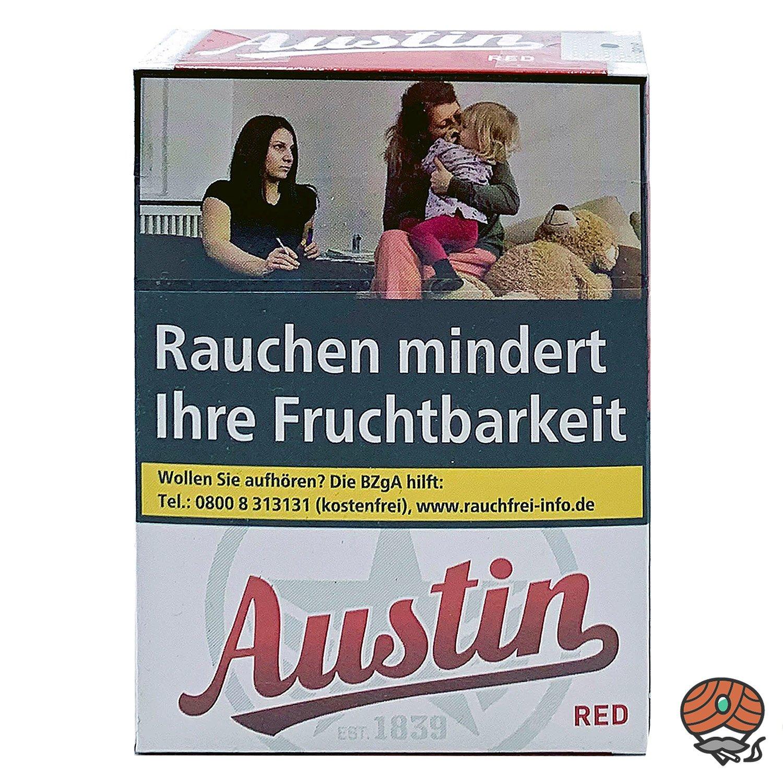 Austin Red Original Zigaretten XL Schachtel 26 Stück
