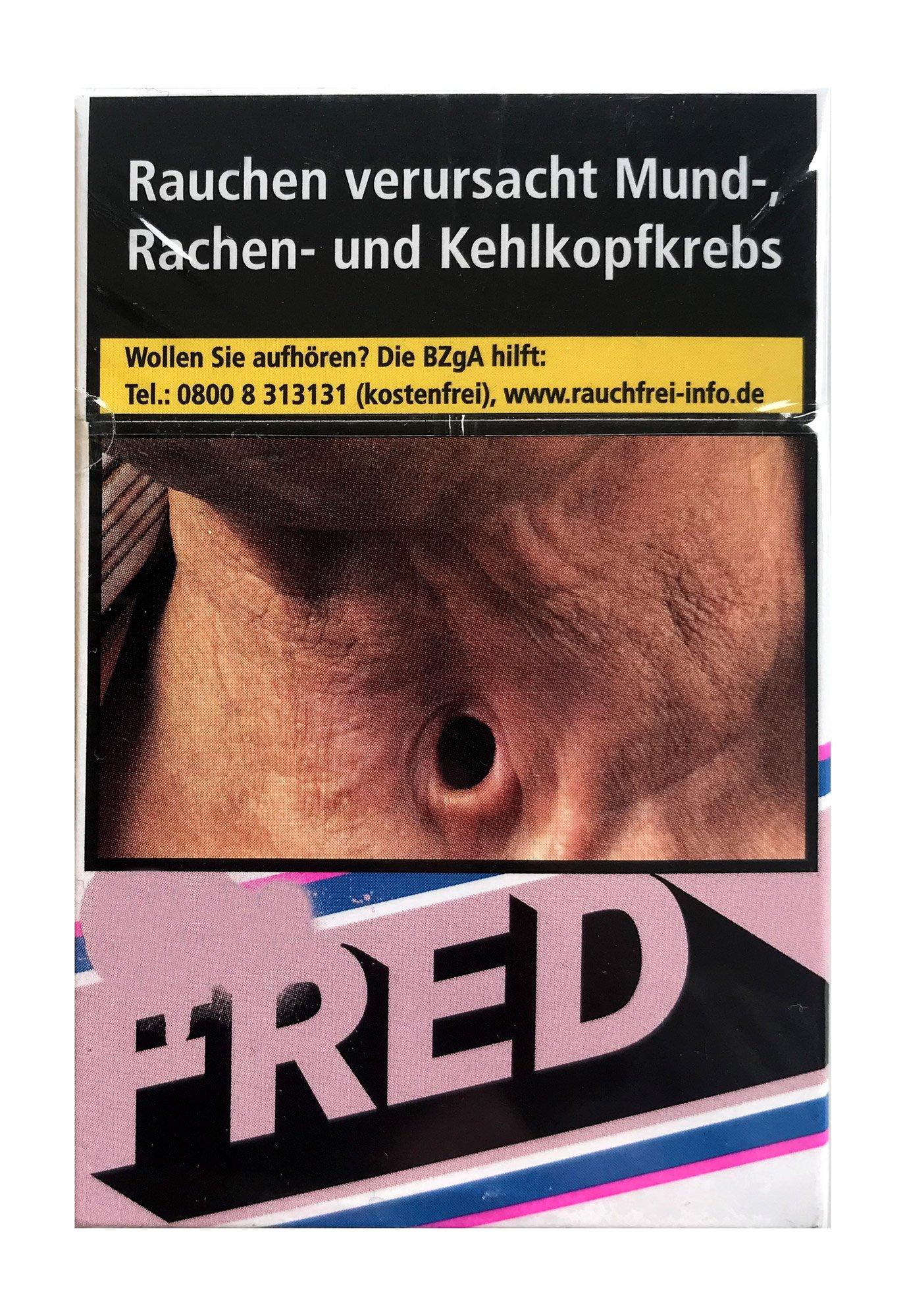 Fred Roses Zigaretten Inhalt 20 Stück
