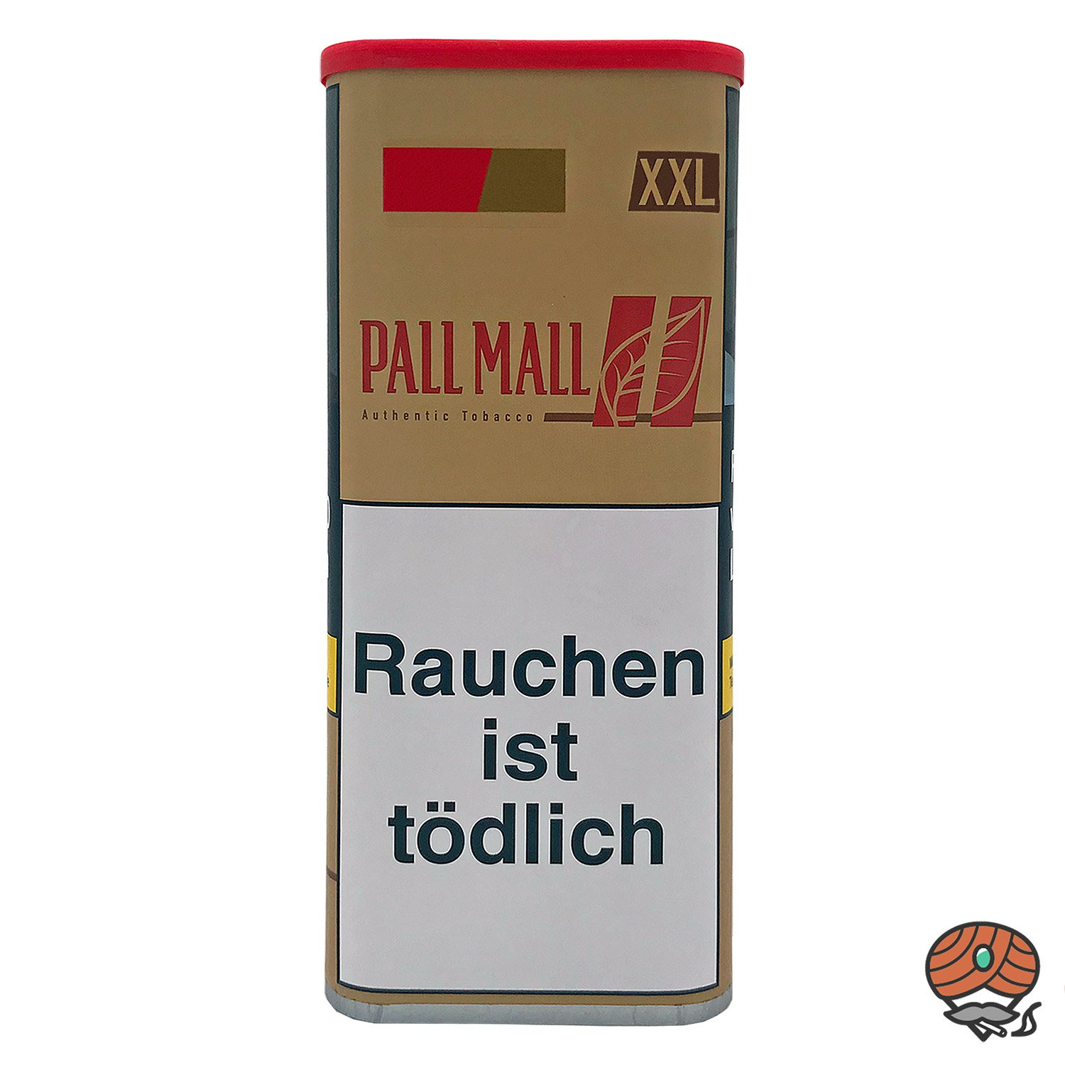 Pall Mall Authentic Red / Rot Volumentabak 95g XXL Dose