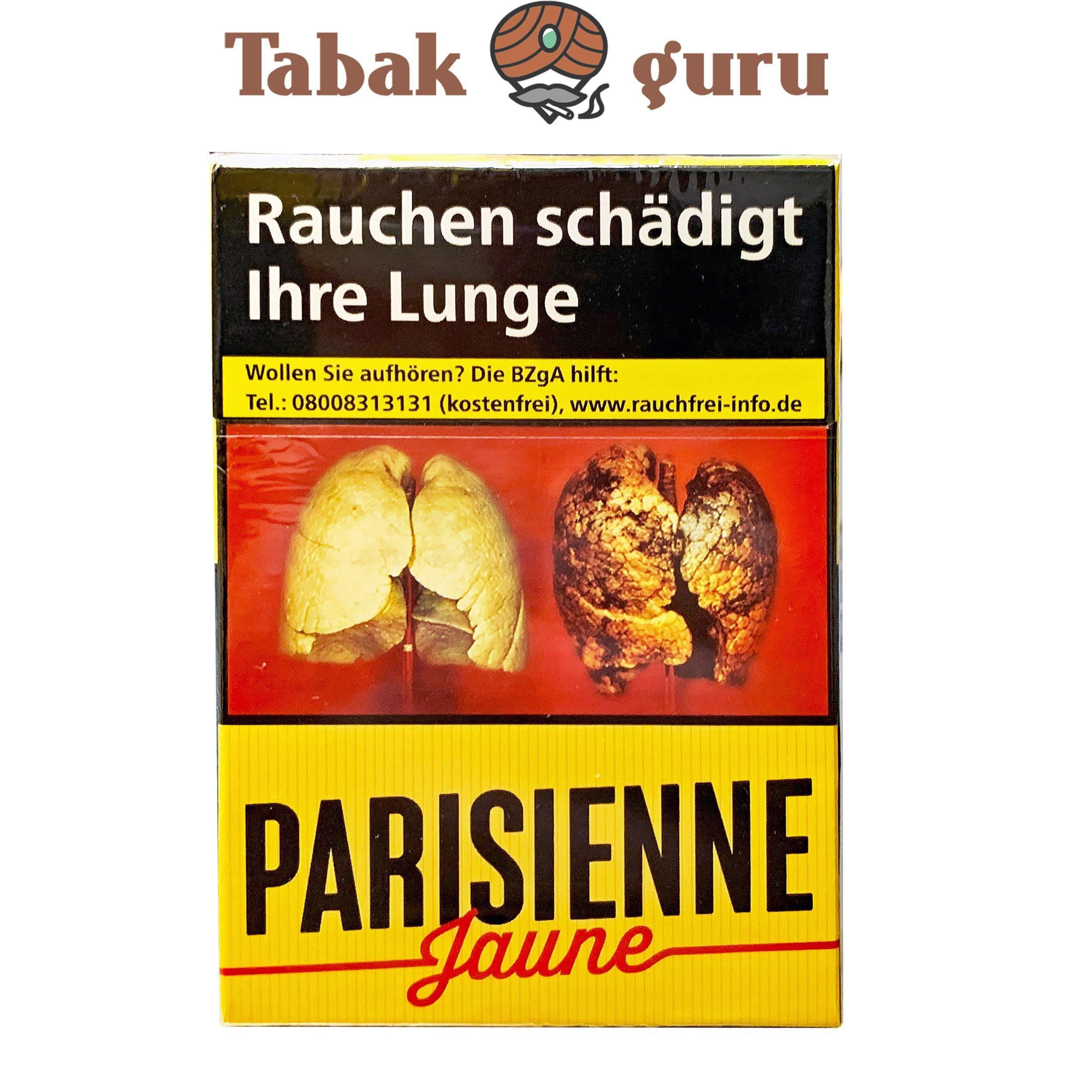 Parisienne Jaune Zigaretten 20 Stück
