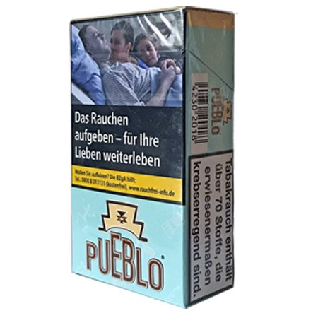 Pueblo Blue Filterzigaretten ohne Zusätze 20 Stück