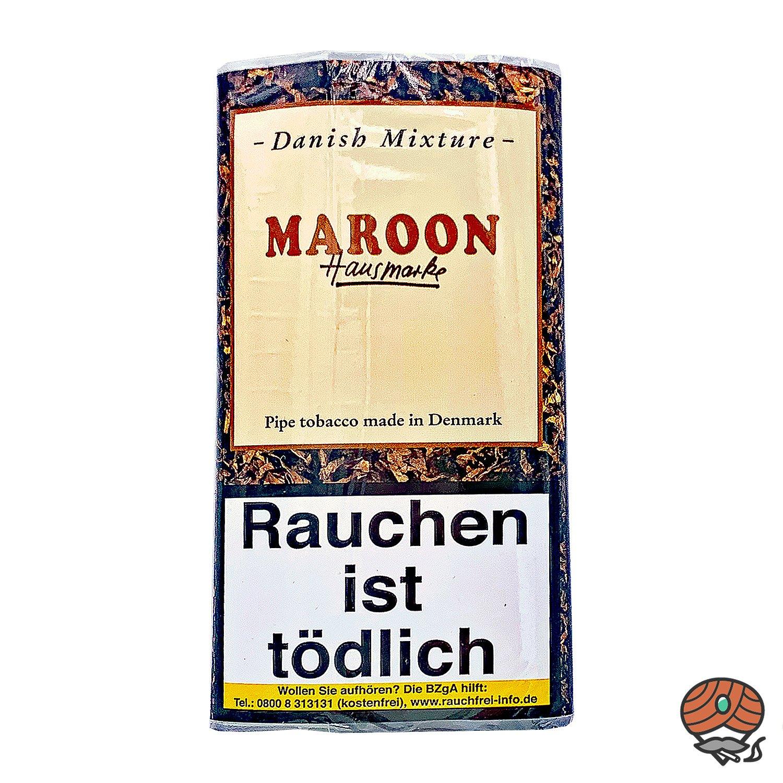 Danish Mixture Hausmarke Maroon Pfeifentabak 50g Pouch