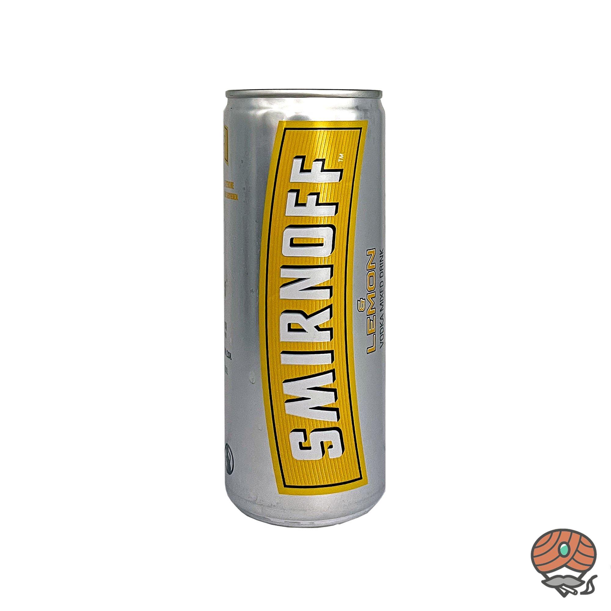 Smirnoff und Lemon alc. 10% Vol, inkl. 0,25 Euro Pfand