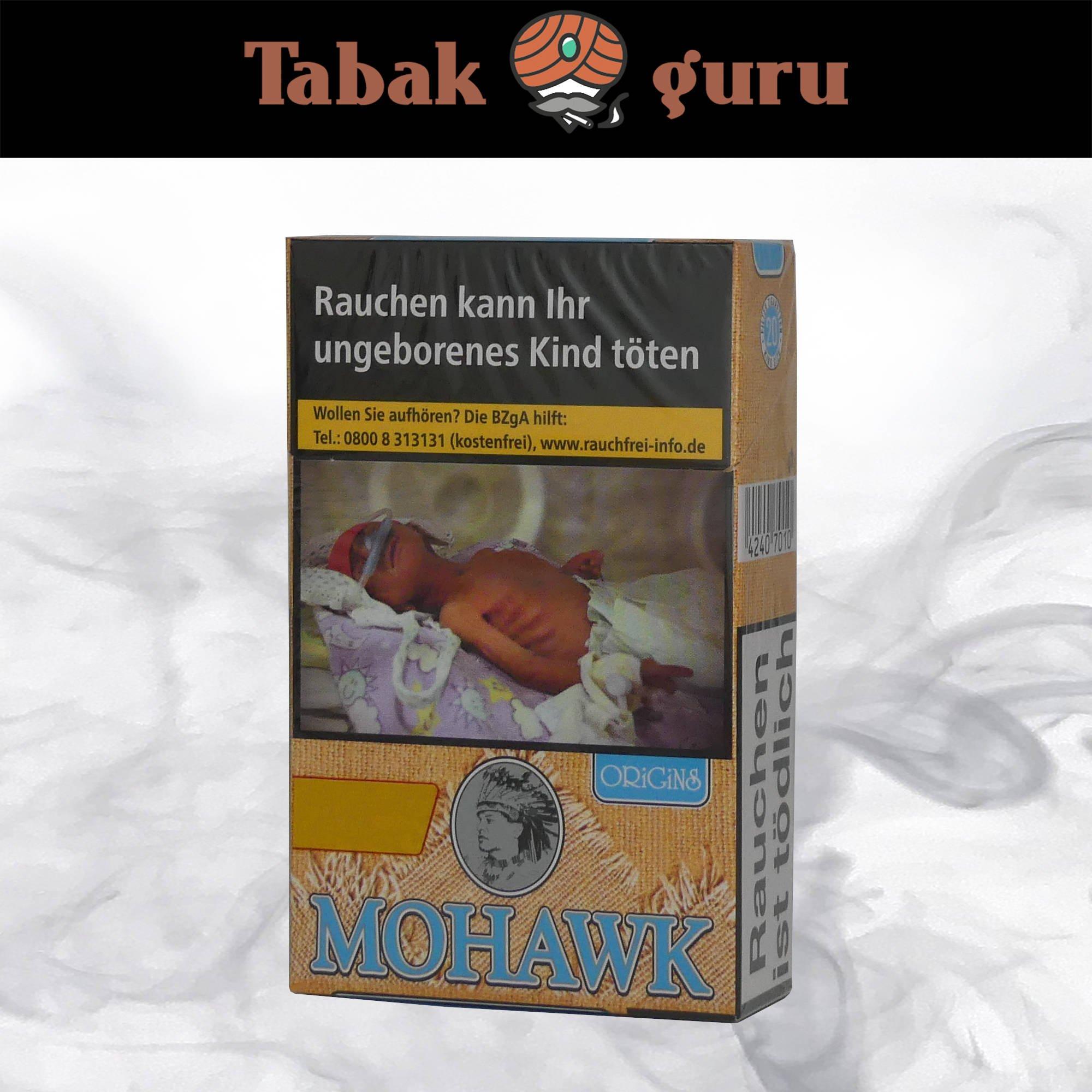 Mohawk Origins Blue Filterzigaretten