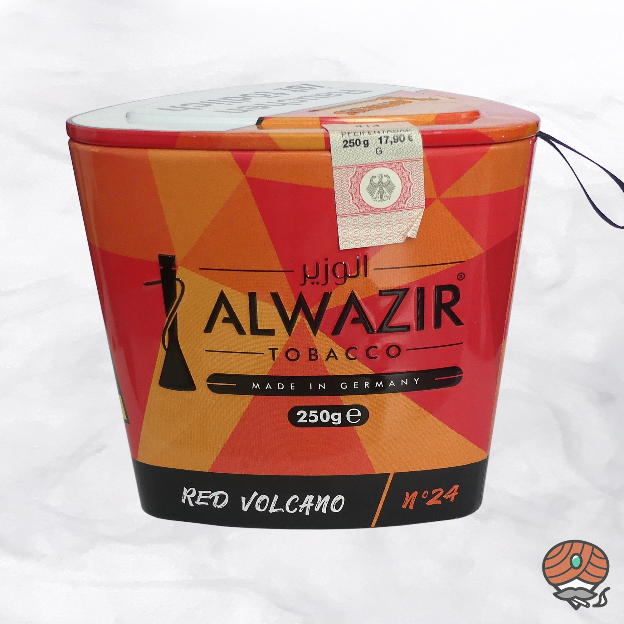 Alwazir Shisha Tabak - No. 24 - RED VOLCANO 250g