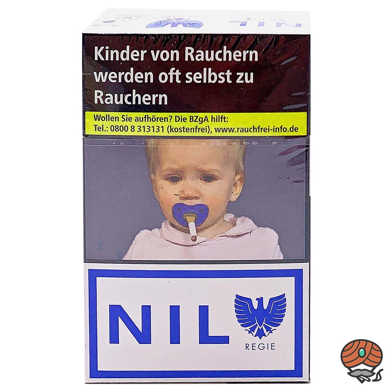 NIL Weiss Filterzigaretten im King Size Format OP 20 Stück