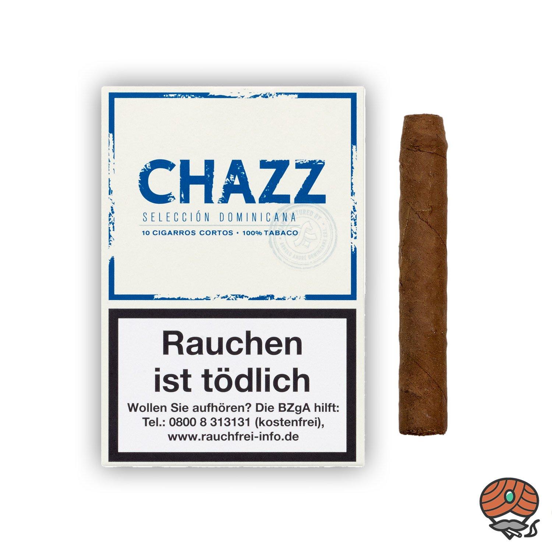CHAZZ Selección Dominicana Cigarros Cortos Nr. 794 - 10 Stück
