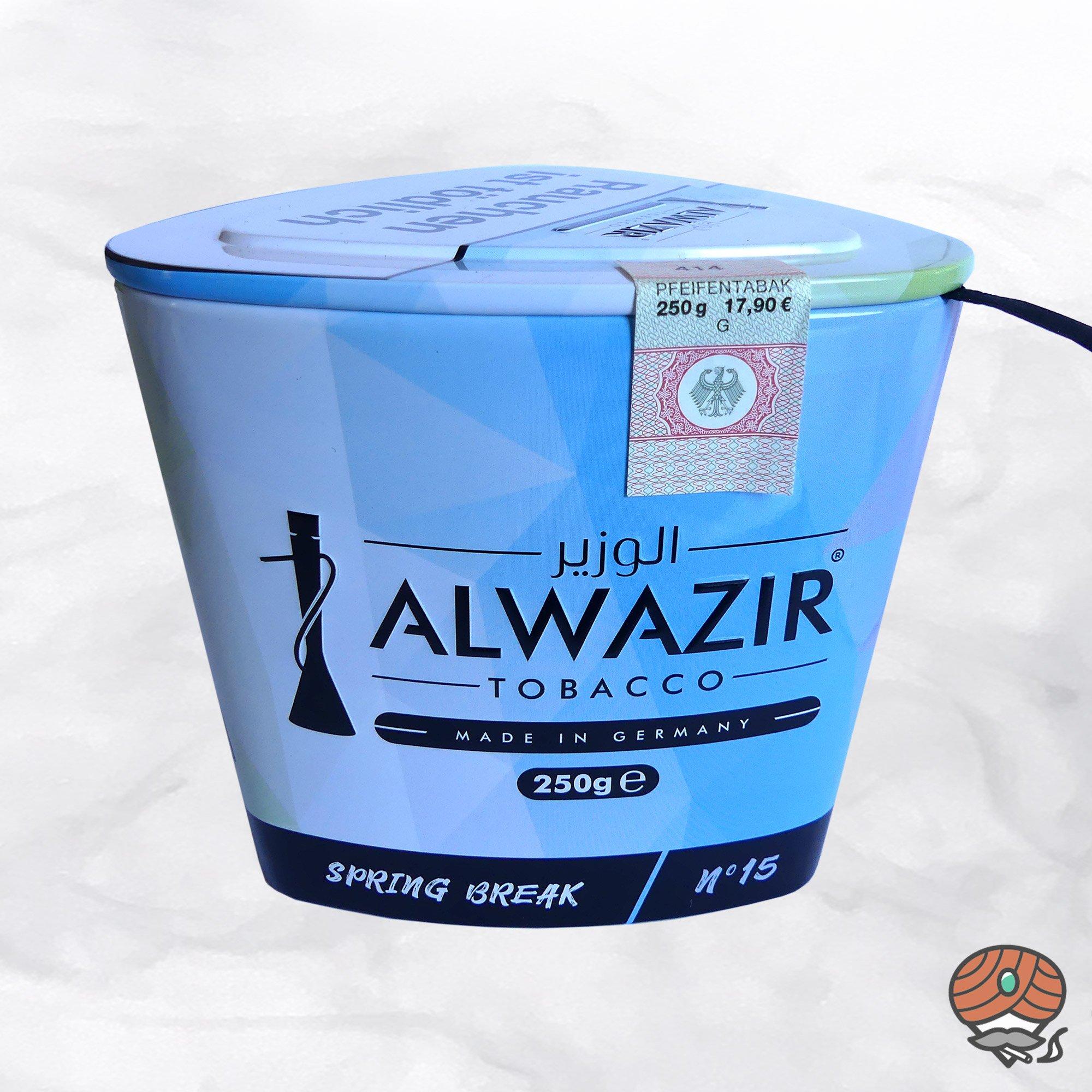 Alwazir Shisha Tabak - No. 15 - SPRING BREAK 250g