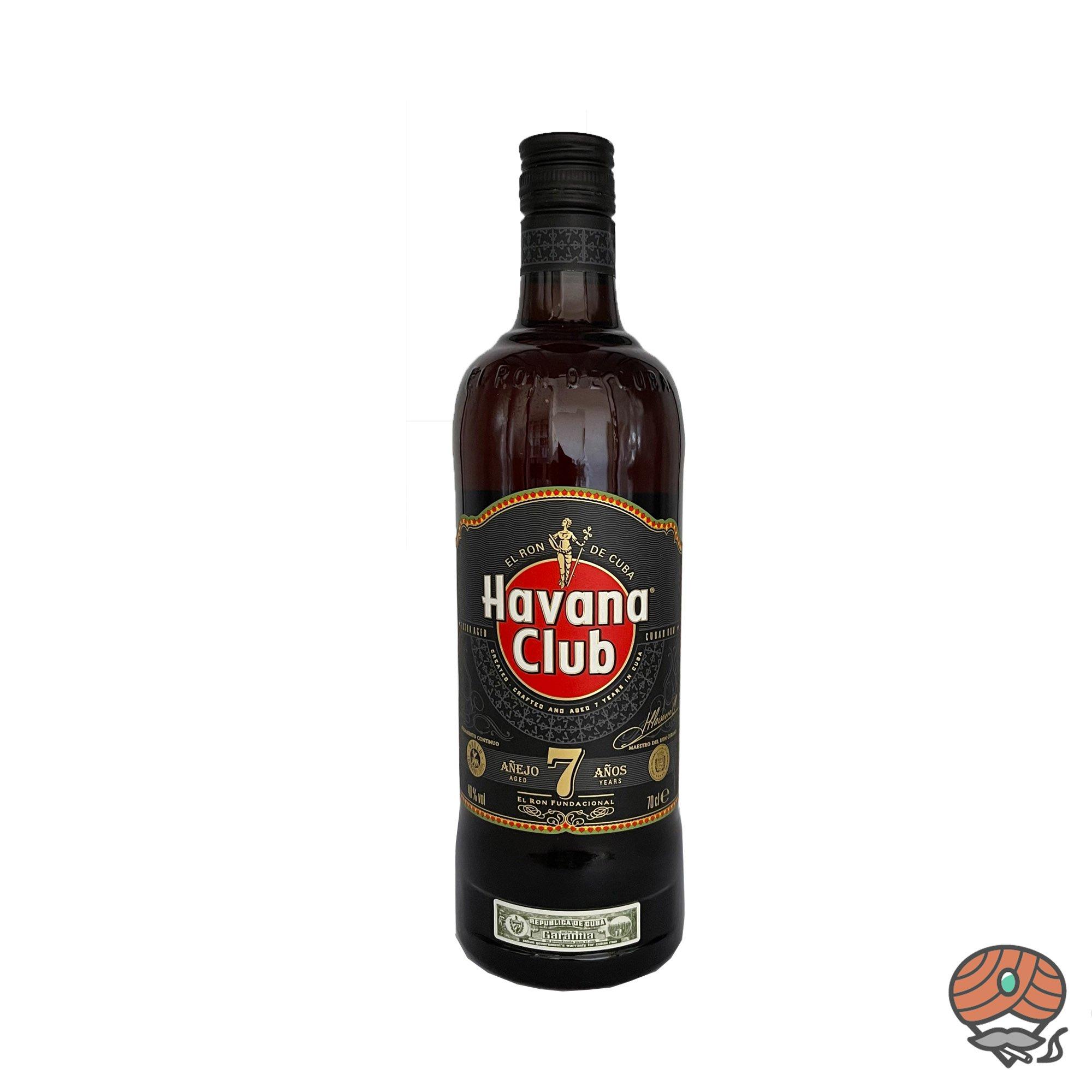 Havanna Club 7 Años  Rum 0,7l, alc. 40 Vol.-%