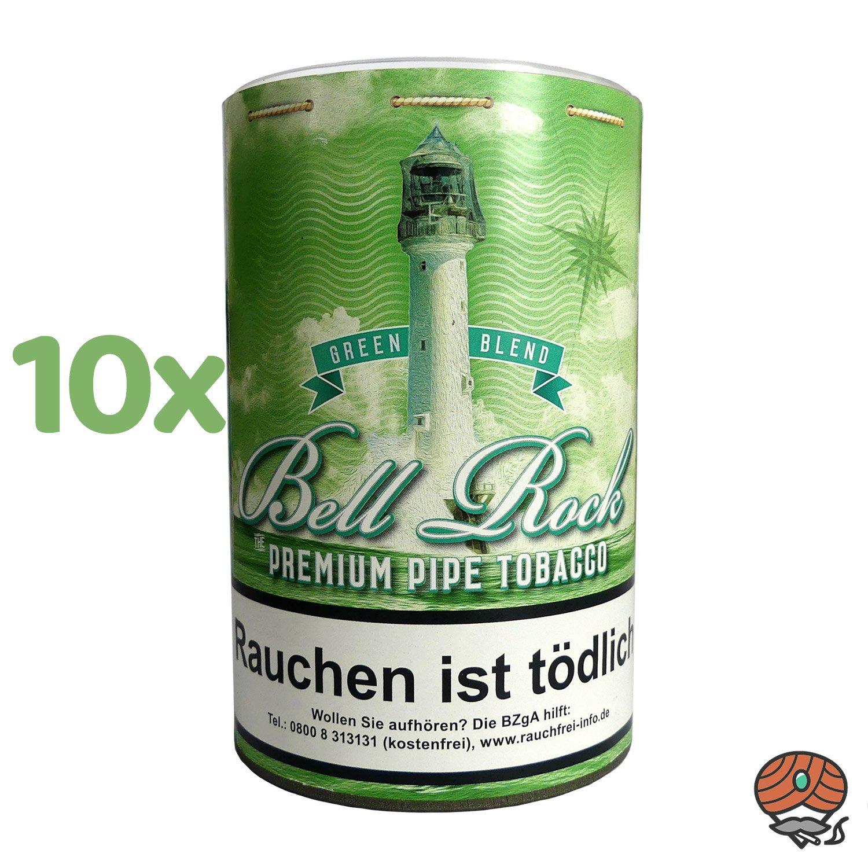 10 x Bell Rock Green Blend/ MenthoI Pfeifentabak 160 g Dose
