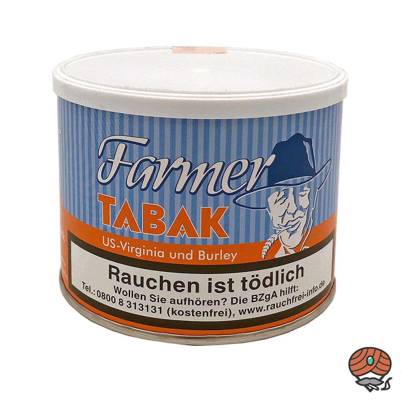 6x Farmer Tabak Dose/ Pfeifentabak à 50g + 600 Burton Hülsen, Zubehör