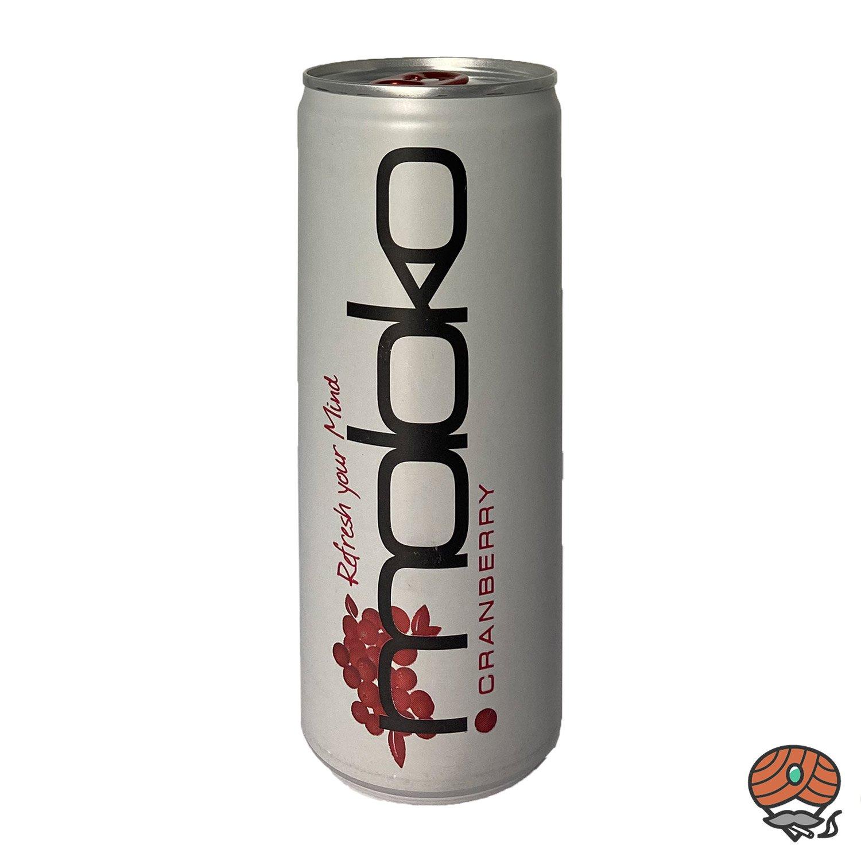 Moloko Cranberry, Erfrischungsgetränk. 250 ml Dose