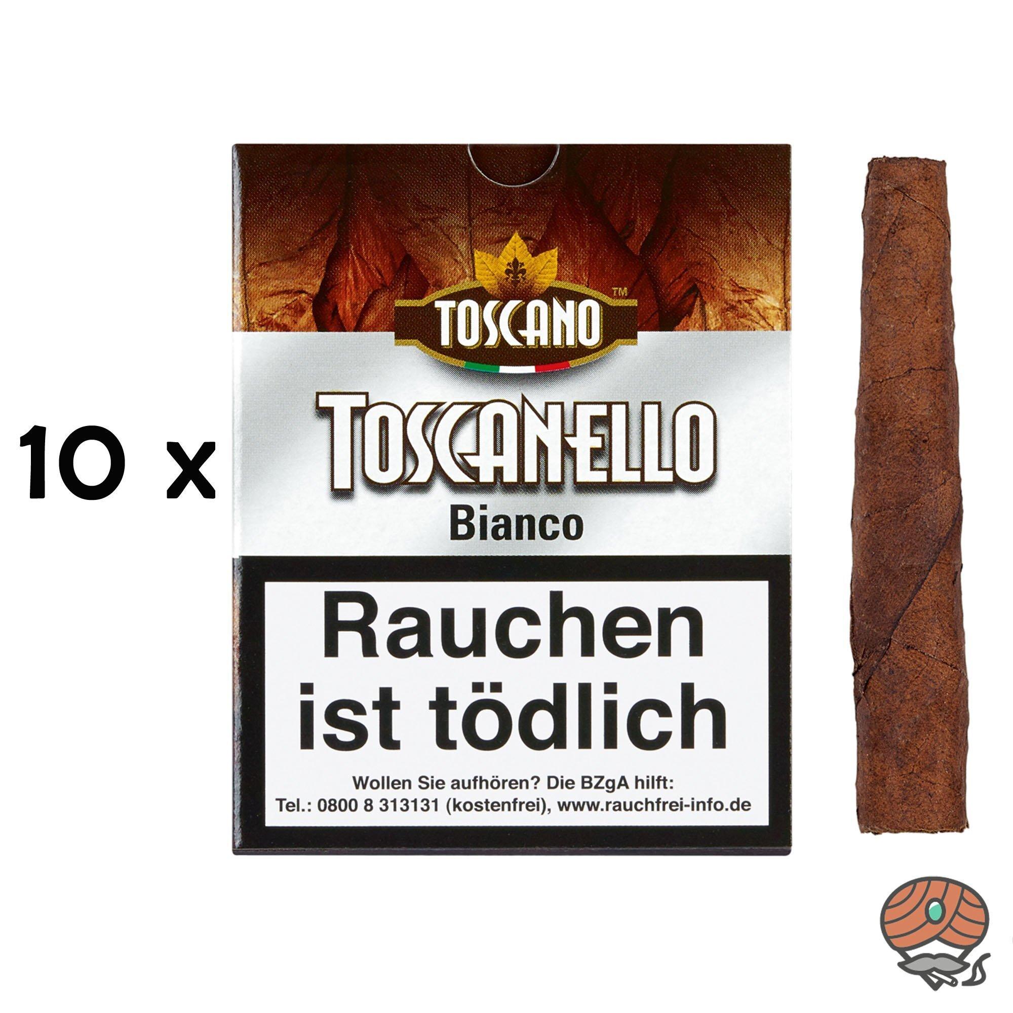 10 x Toscanello Bianco Zigarren (Grappa)