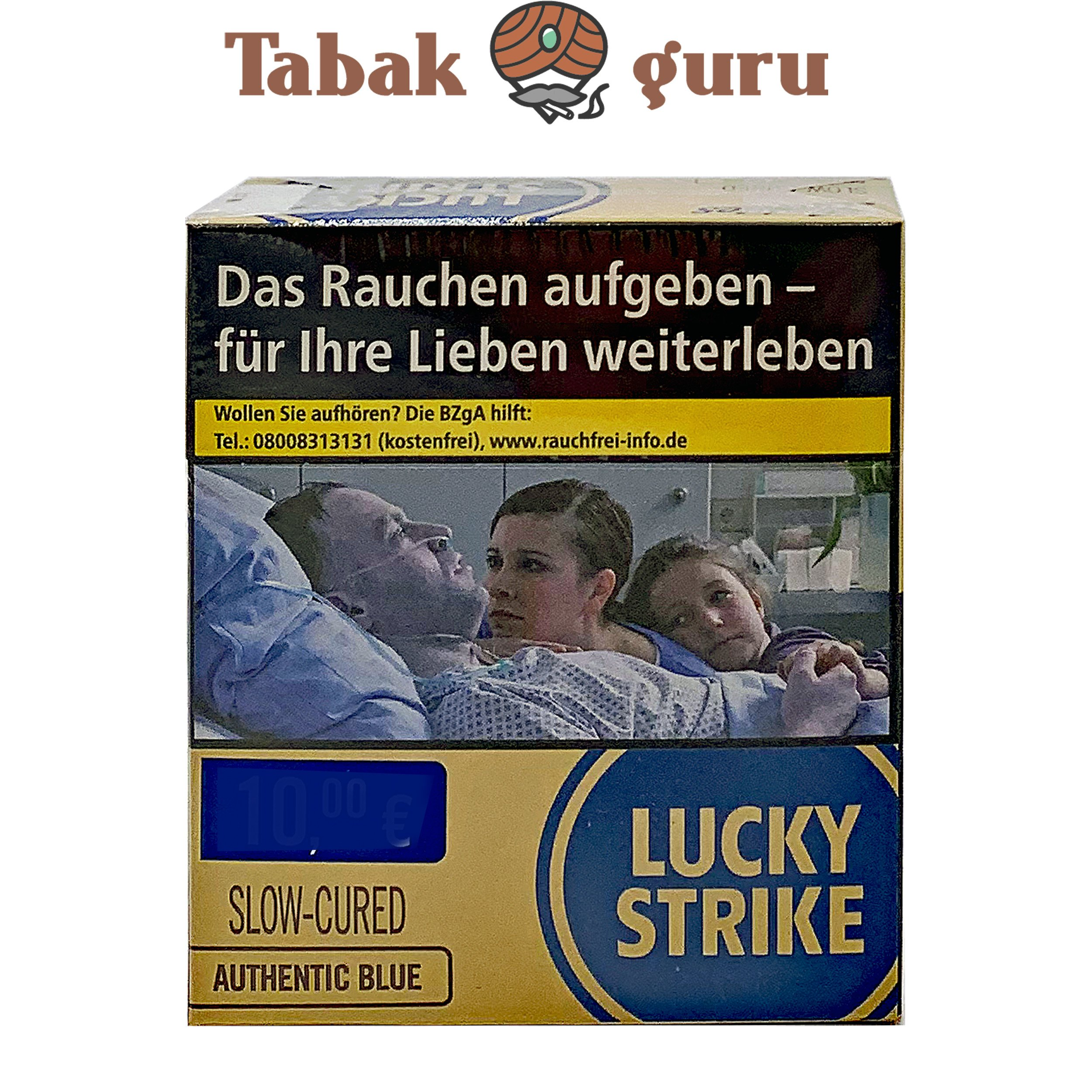 Lucky Strike Authentic Blue (ohne Zusätze) XXL Inhalt 25 Stück