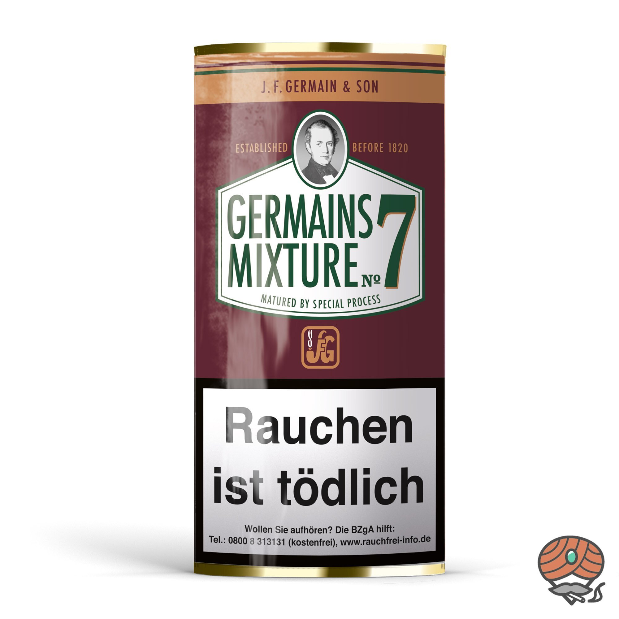 Germain´s Mixture No.7 Pfeifentabak 50 g Pouch
