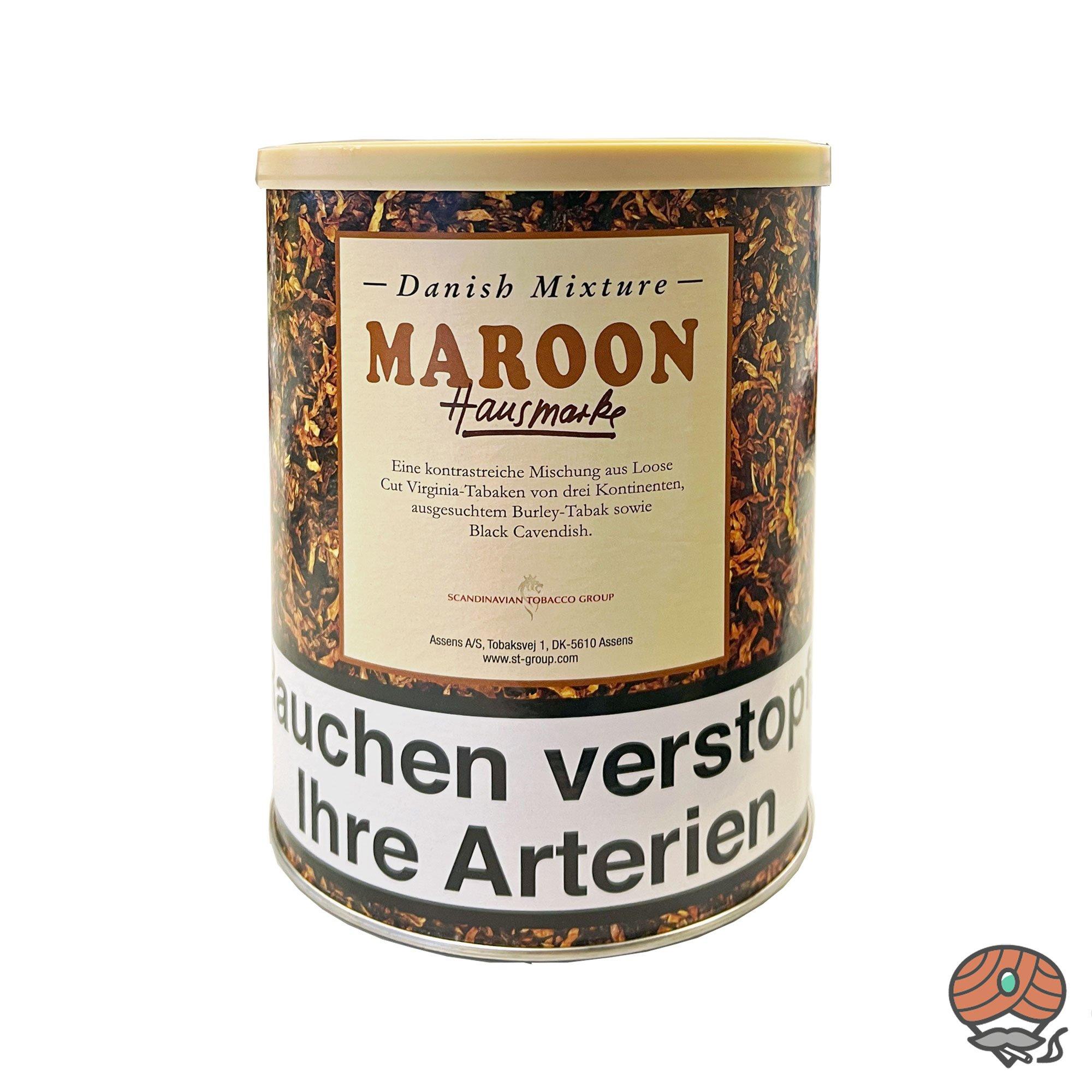 Danish Mixture Hausmarke Maroon 200g Dose Pfeifentabak