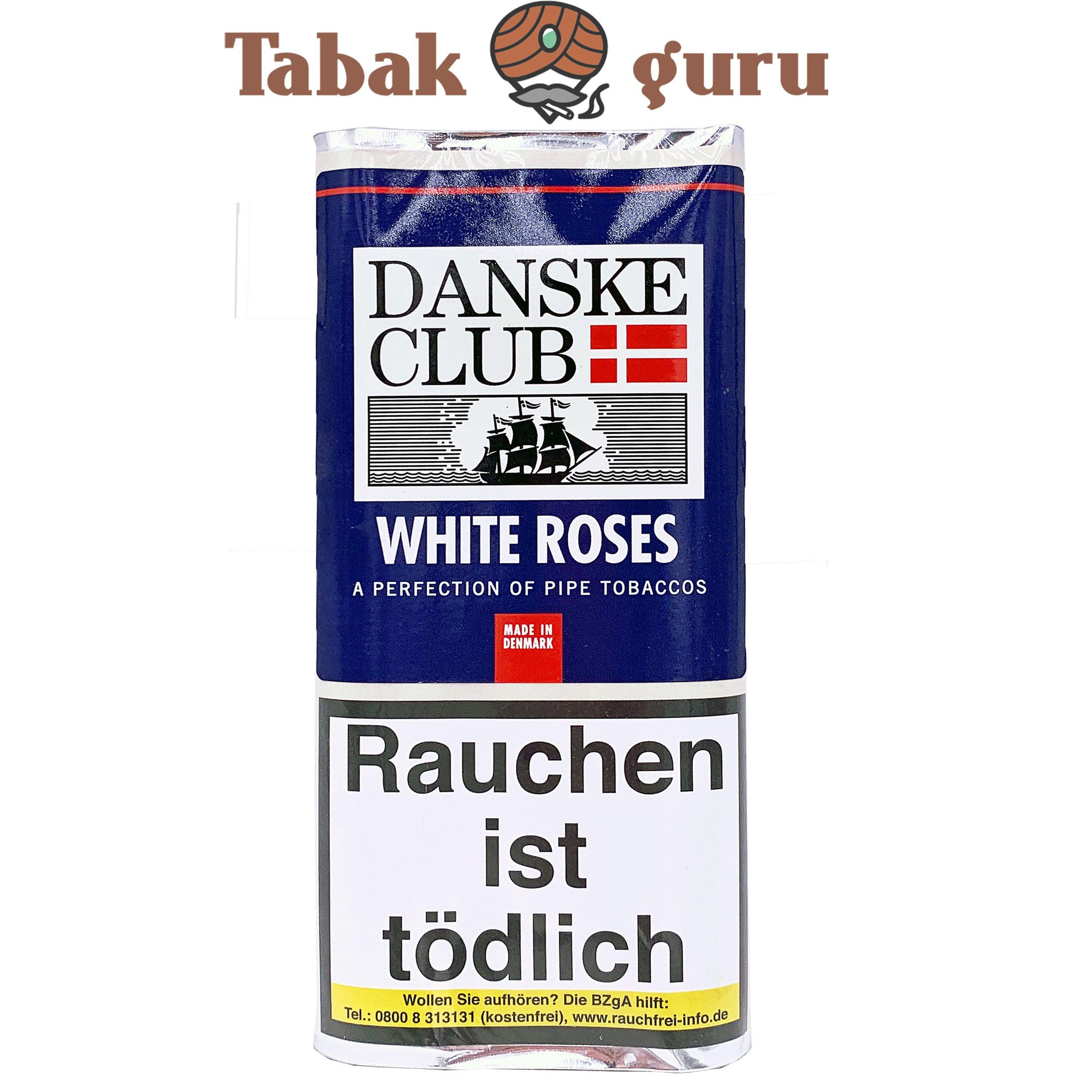 Danske White Roses Black Pfiefentabak