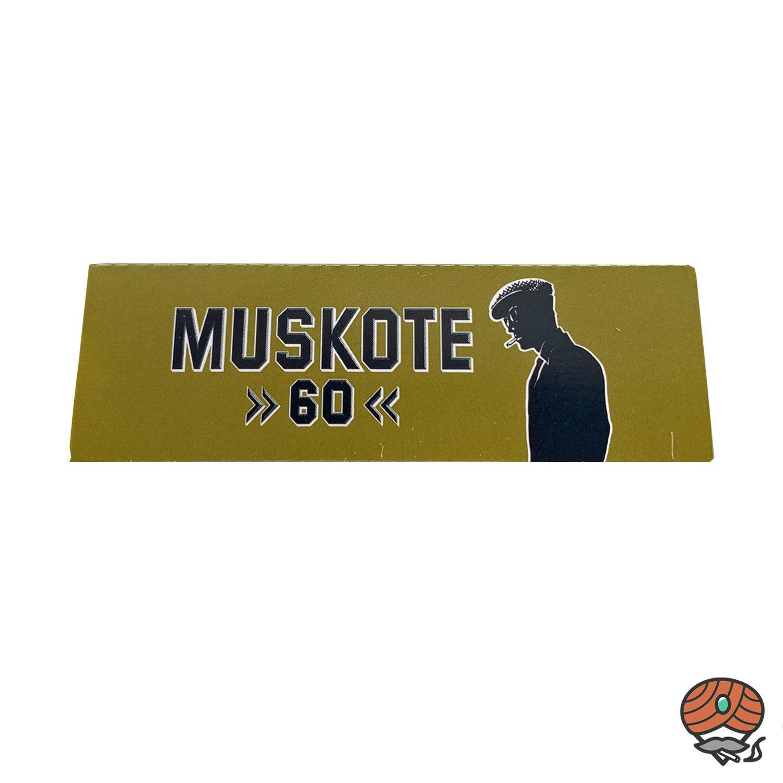 Muscote 60 Zigarettenpapier / Blättchen 60 Papers