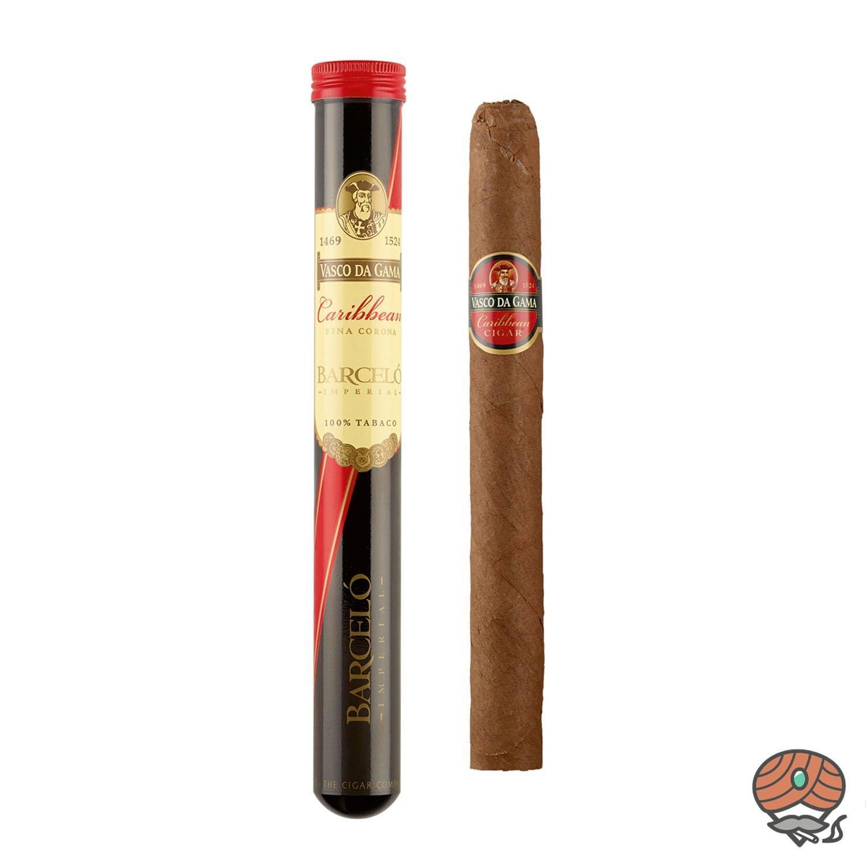 Vasco da Gama Corona Caribbean (Rum) Nr. 86 Zigarre