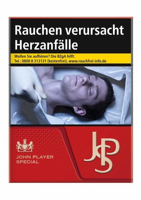 JPS / John Player Special Red Zigaretten 21 Stück