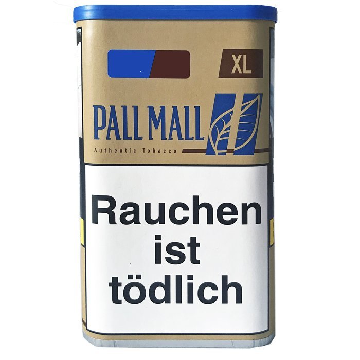 Pall Mall Authentic Blue / Blau XL 60g Dose