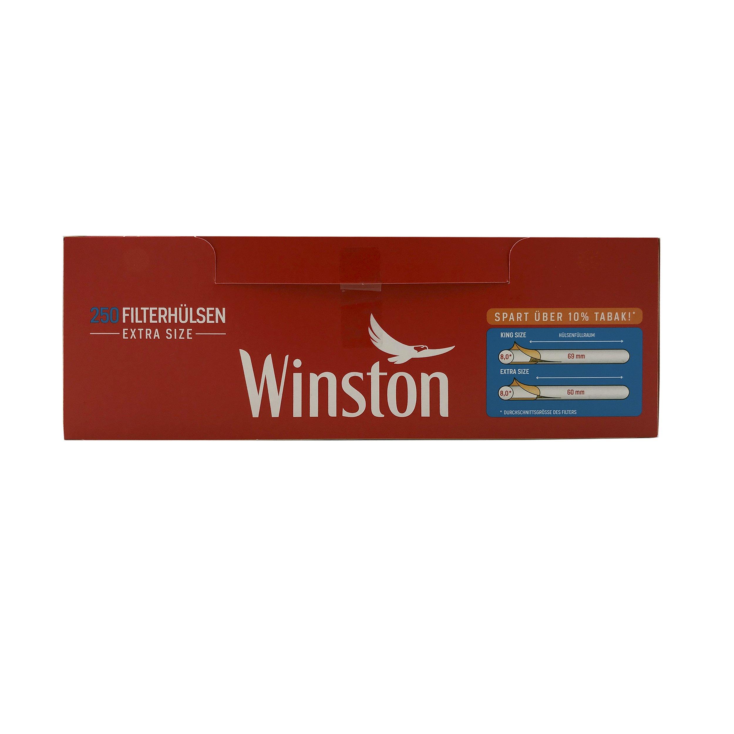 250 Winston Extra Filterhülsen