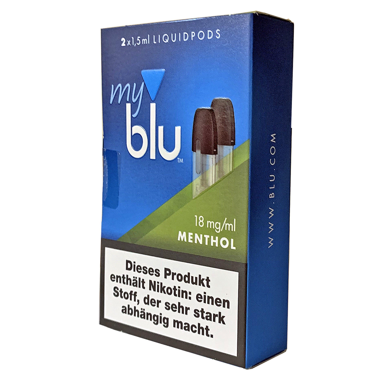myblu Liquid Pods Menthol 18 mg/ml Nikotin