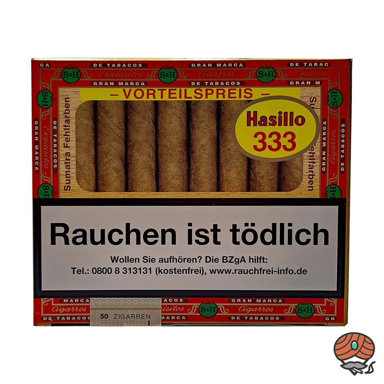 Hasillo Sumatra Zigarren Nr. 333 - Sumatra Fehlfarben