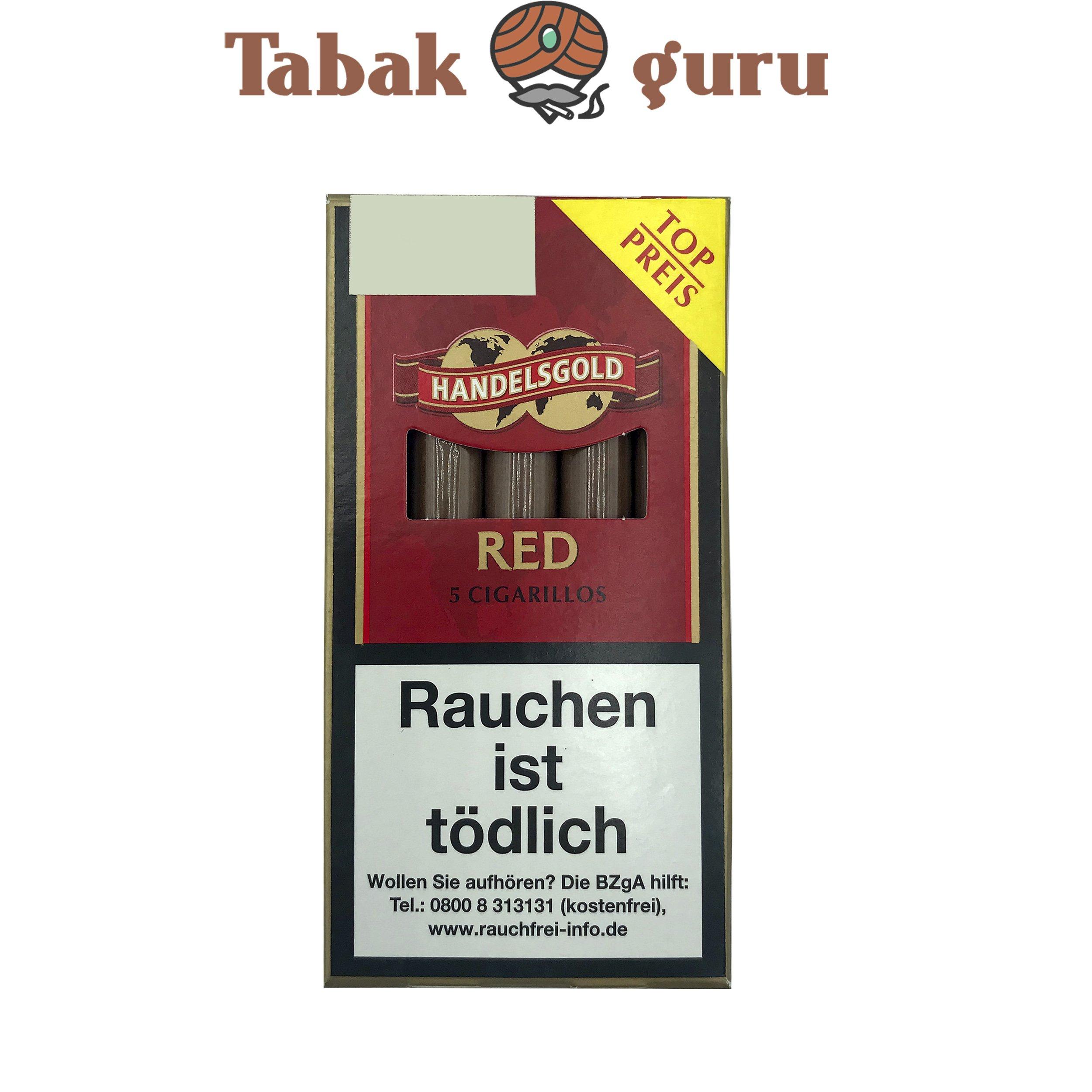 Handelsgold Red No. 213 Filterzigarillos a 5 Stück