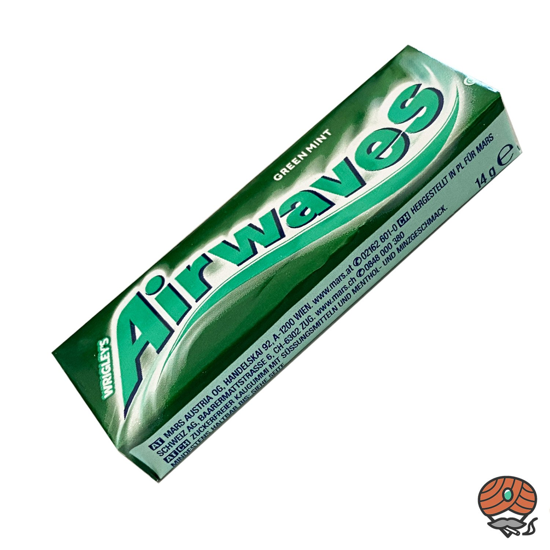 Wrigley`s Airwaves Green Mint Kaugummi Dragees