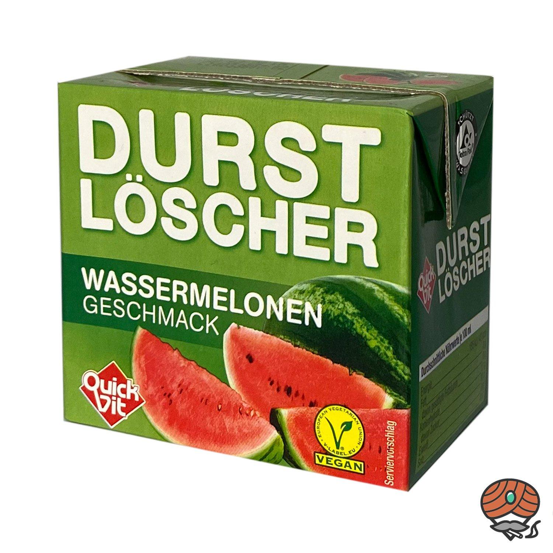 QuickVit Durstlöscher Wassermelone, Erfrischungsgetränk, 500 ml