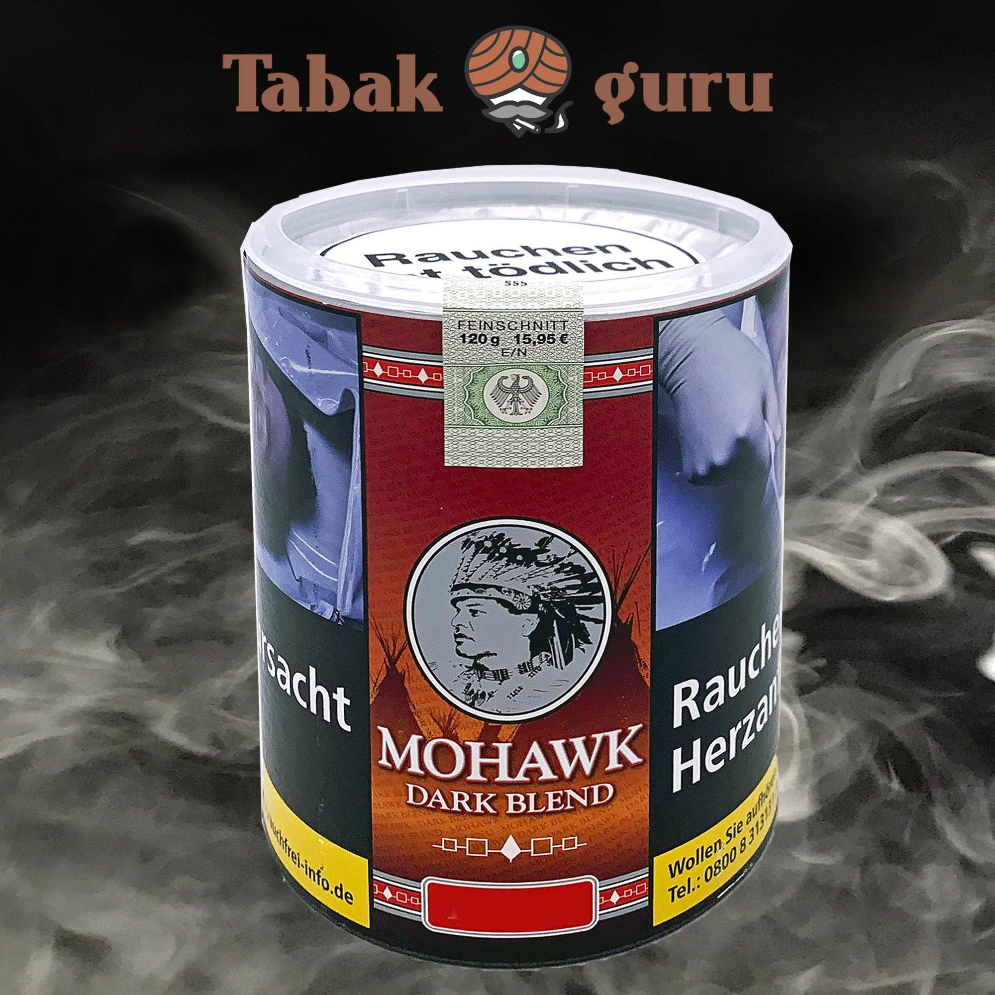 Mohawk Dark Blend Feinschnitt-Tabak