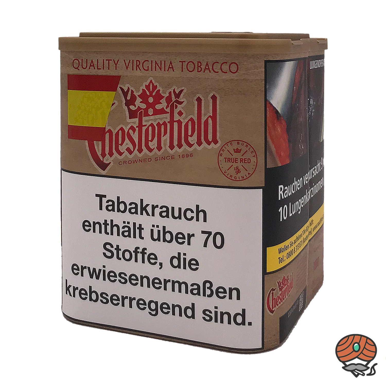 Chesterfield True Red Stopftabak ohne Zusätze L Dose 95 g
