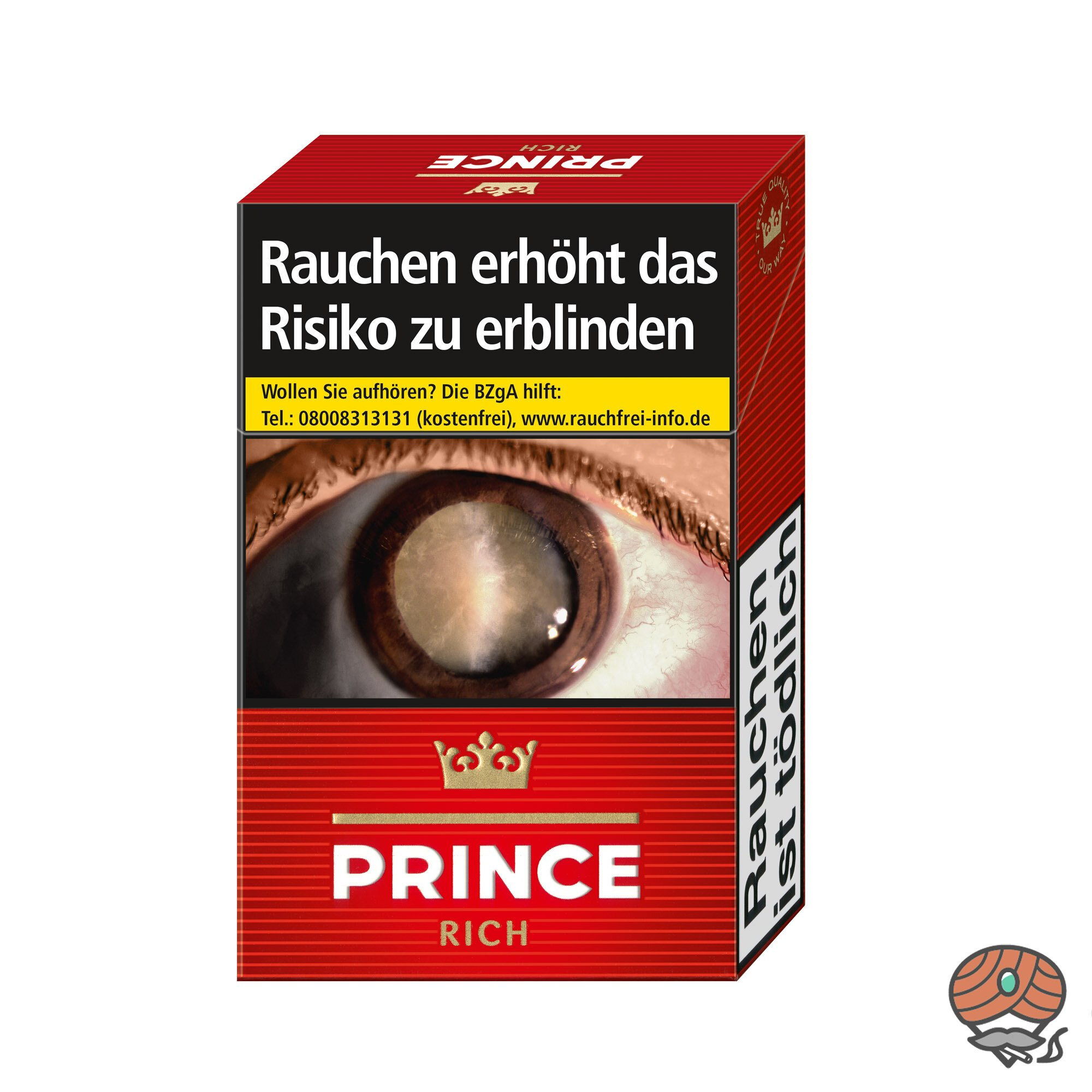 Prince Rich / Red Zigaretten Inhalt 20 Stück