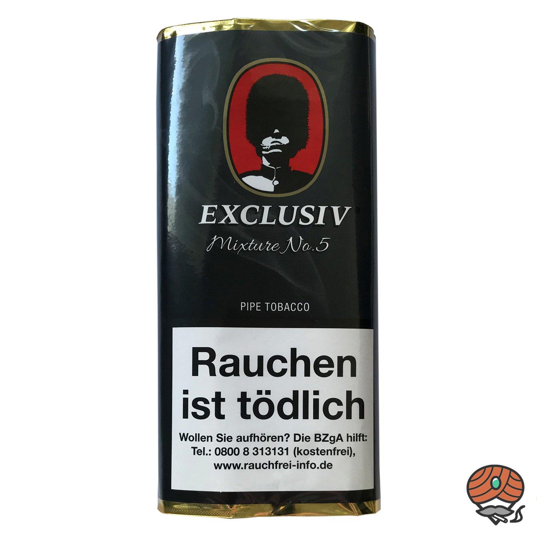 EXCLUSIV Mixture No. 5 Pfeifentabak 50g Pouch (ehem. Whisky)