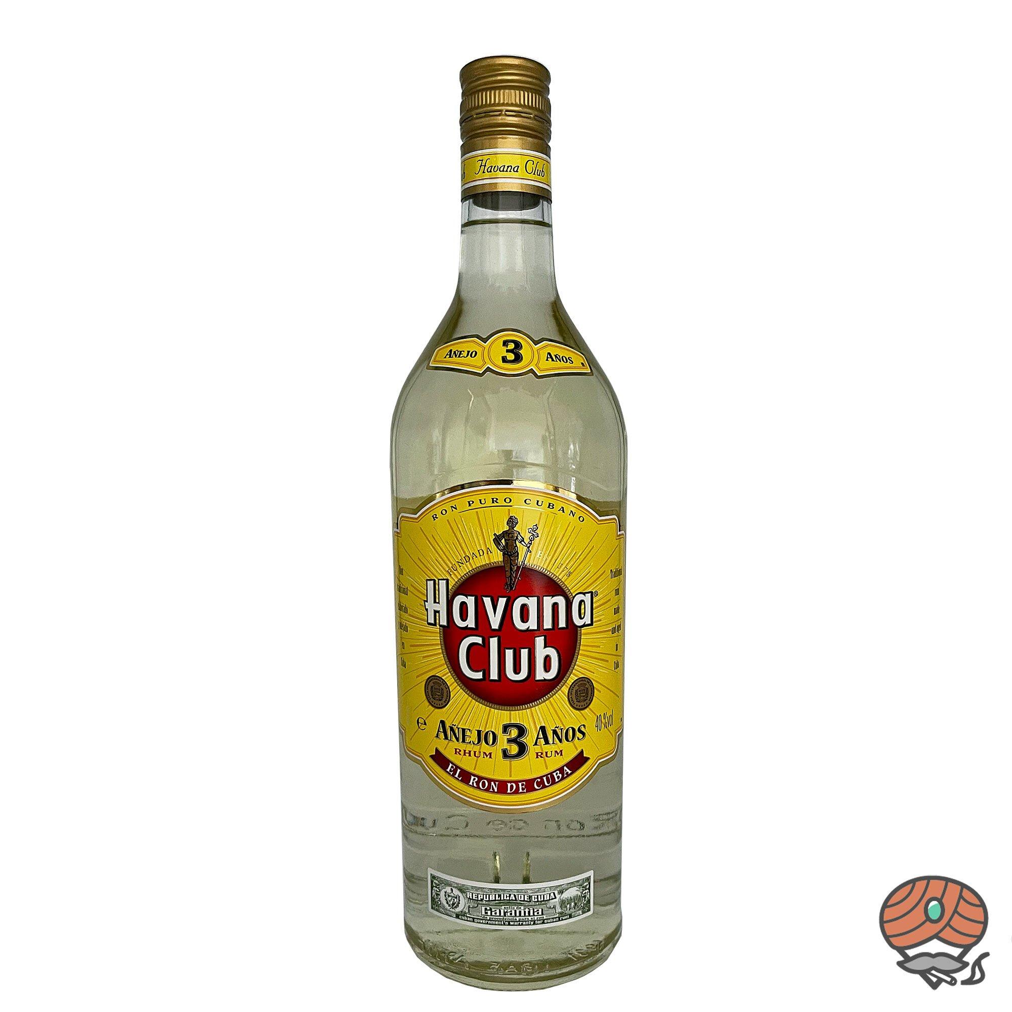 Havana Club 3 Años  Rum 1l, alc. 40 Vol.-%