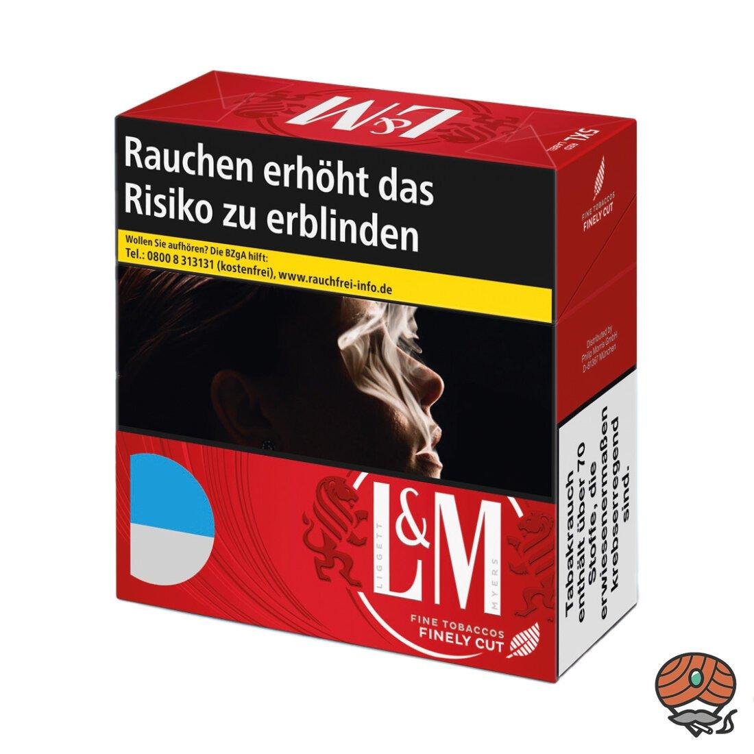 L&M Red / Rot Label 5XL Inhalt 49 Stück