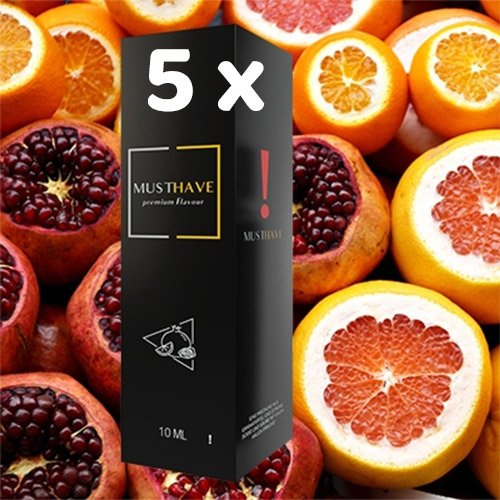 5 x MUSTHAVE ! 10 ml Aroma + Leerflasche, Longfill