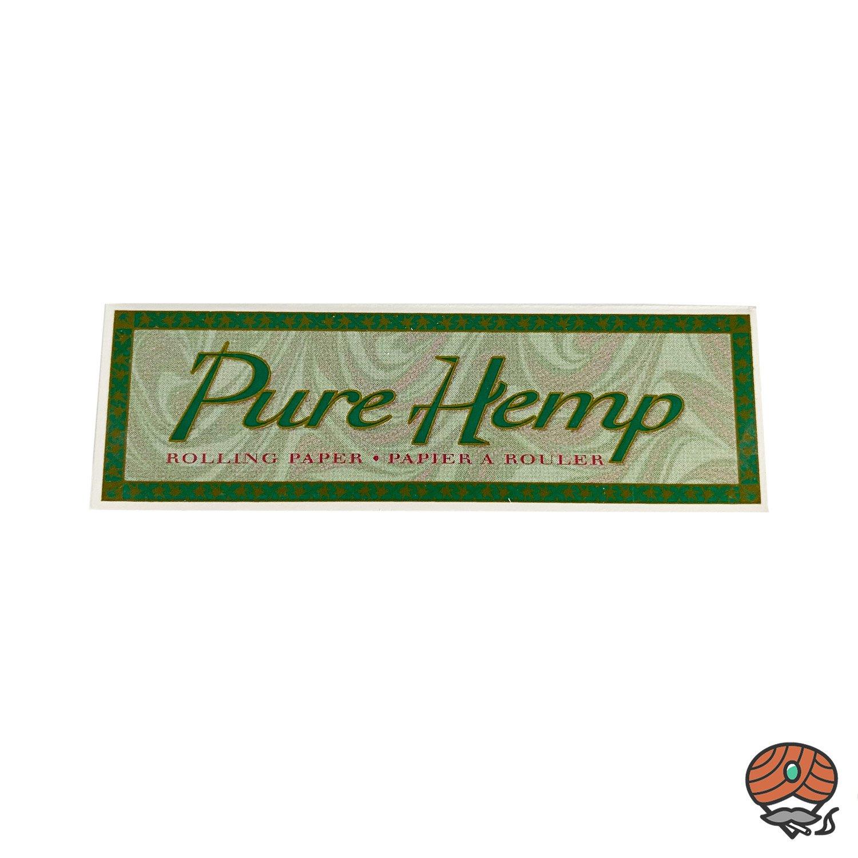 Pure Hemp Zigarettenpapier/ Drehpapier Heft à 50 Blatt