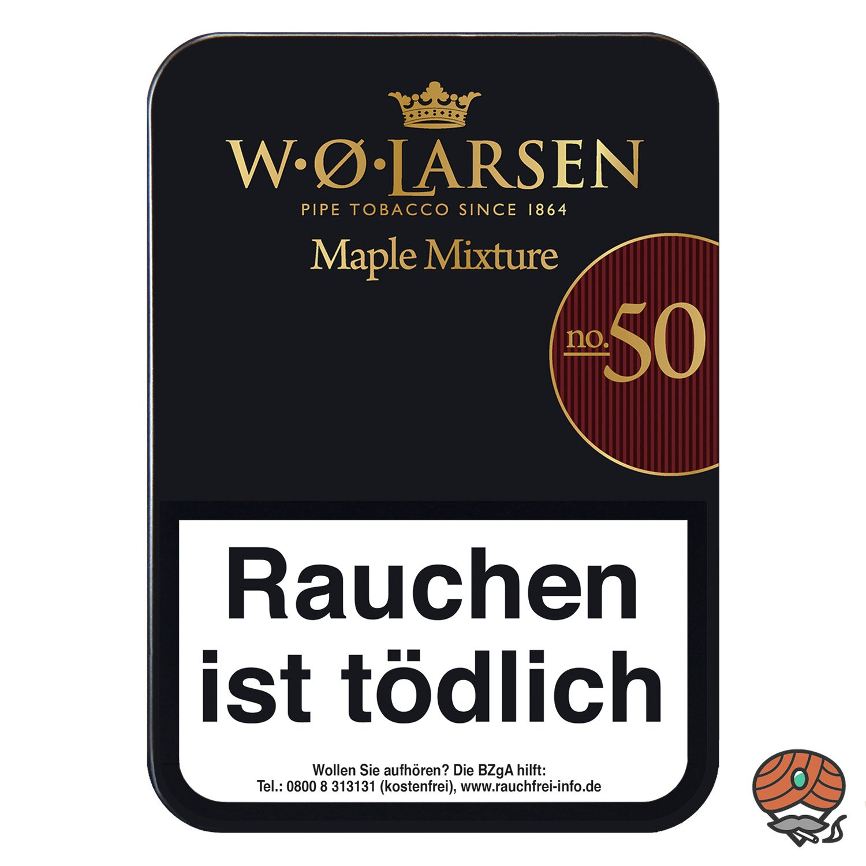 W.Ø. LARSEN Mapel Mixture No. 50 Pfeifentabak 100g Dose