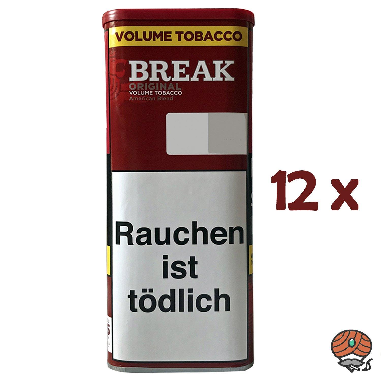 12x Break Original Volumentabak / Tabak XXL Dose à 115g