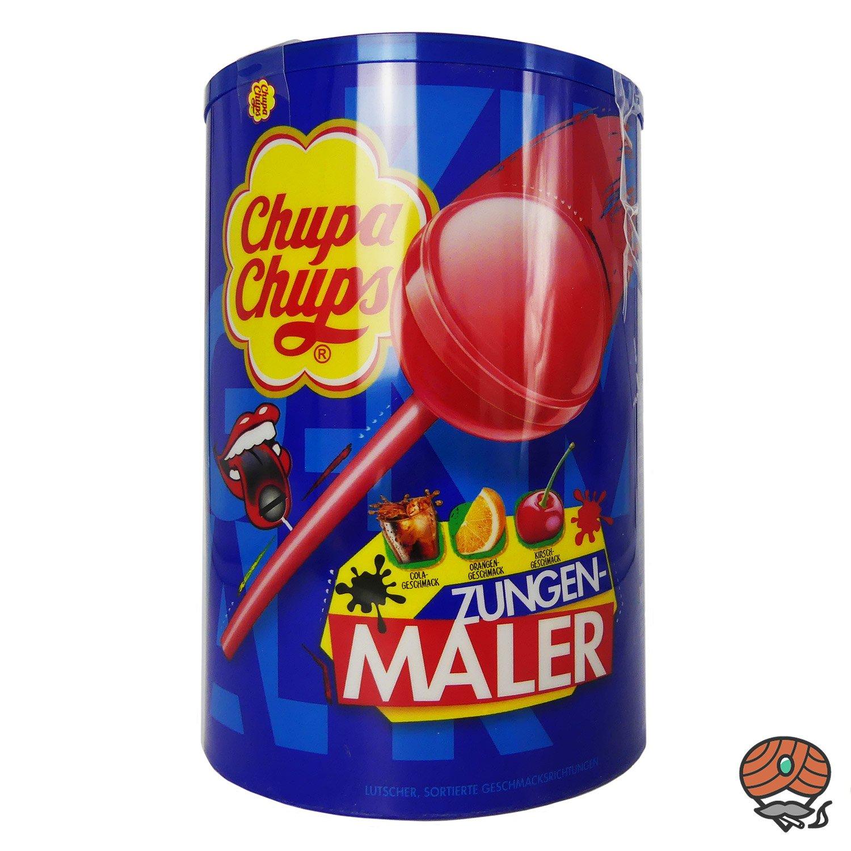 Chupa Chups Zungenmaler Lutscher 100 Stück 1200 g