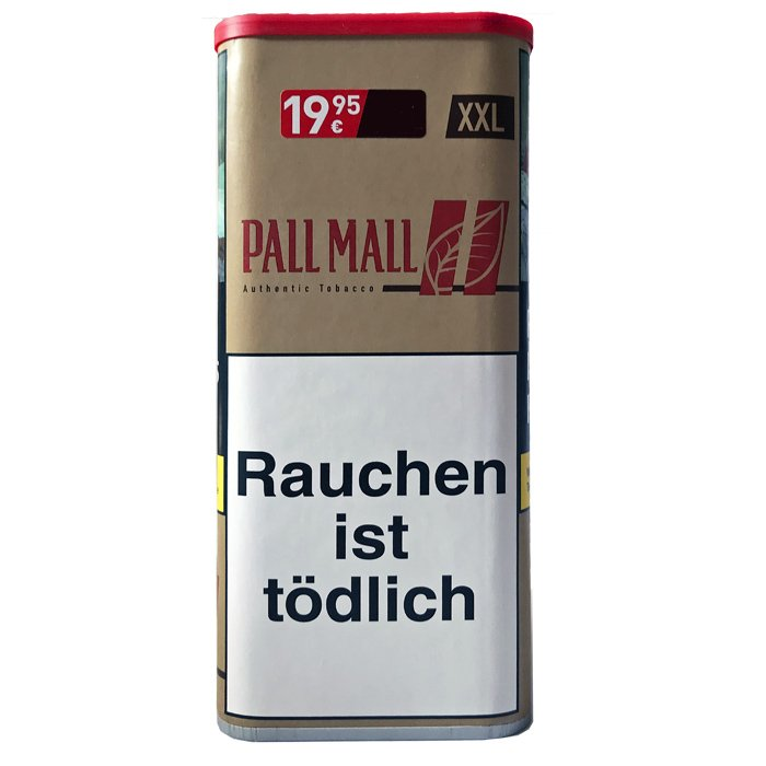 Pall Mall Authentic Red / rot XXL 105g Dose