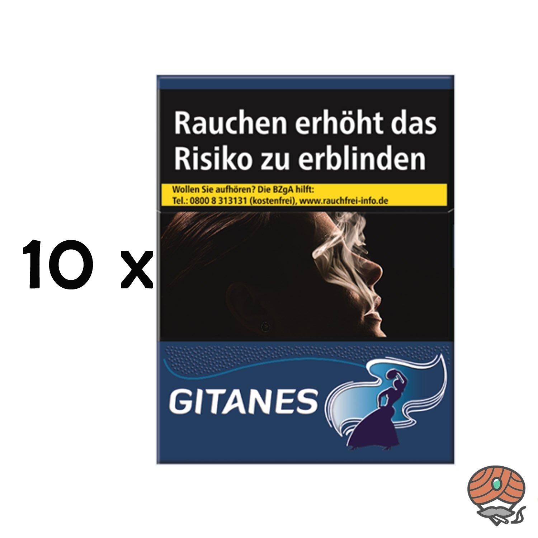 Stange Gitanes Zigaretten ohne Filter 10x20 Stück