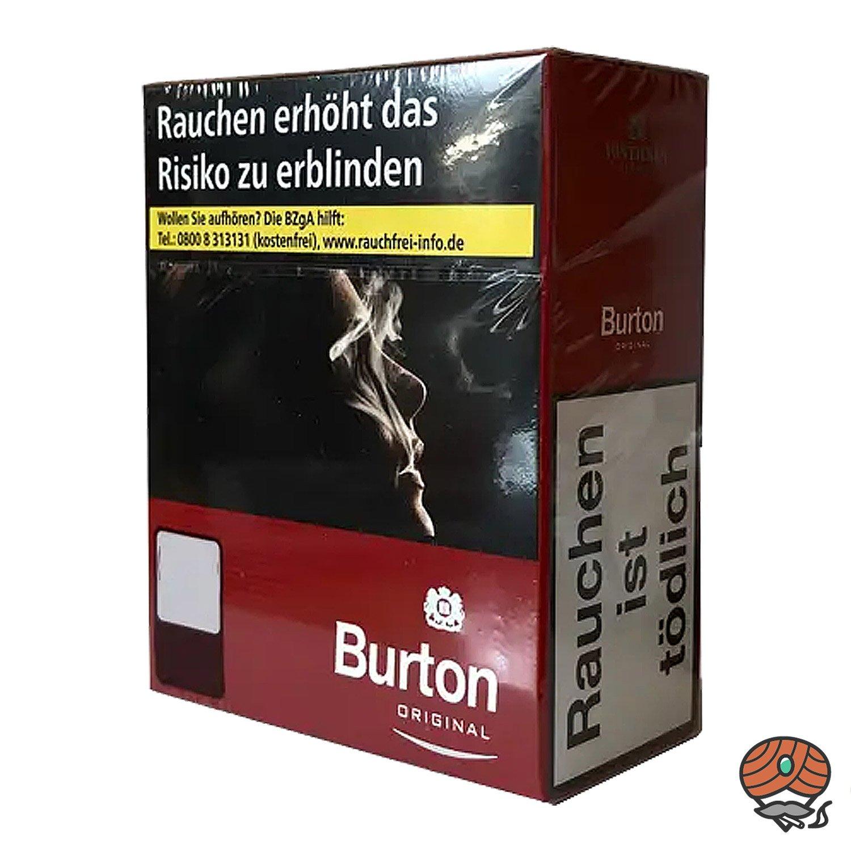 Burton Original Red / Rot Zigaretten  XXXL Schachtel 40 Stück