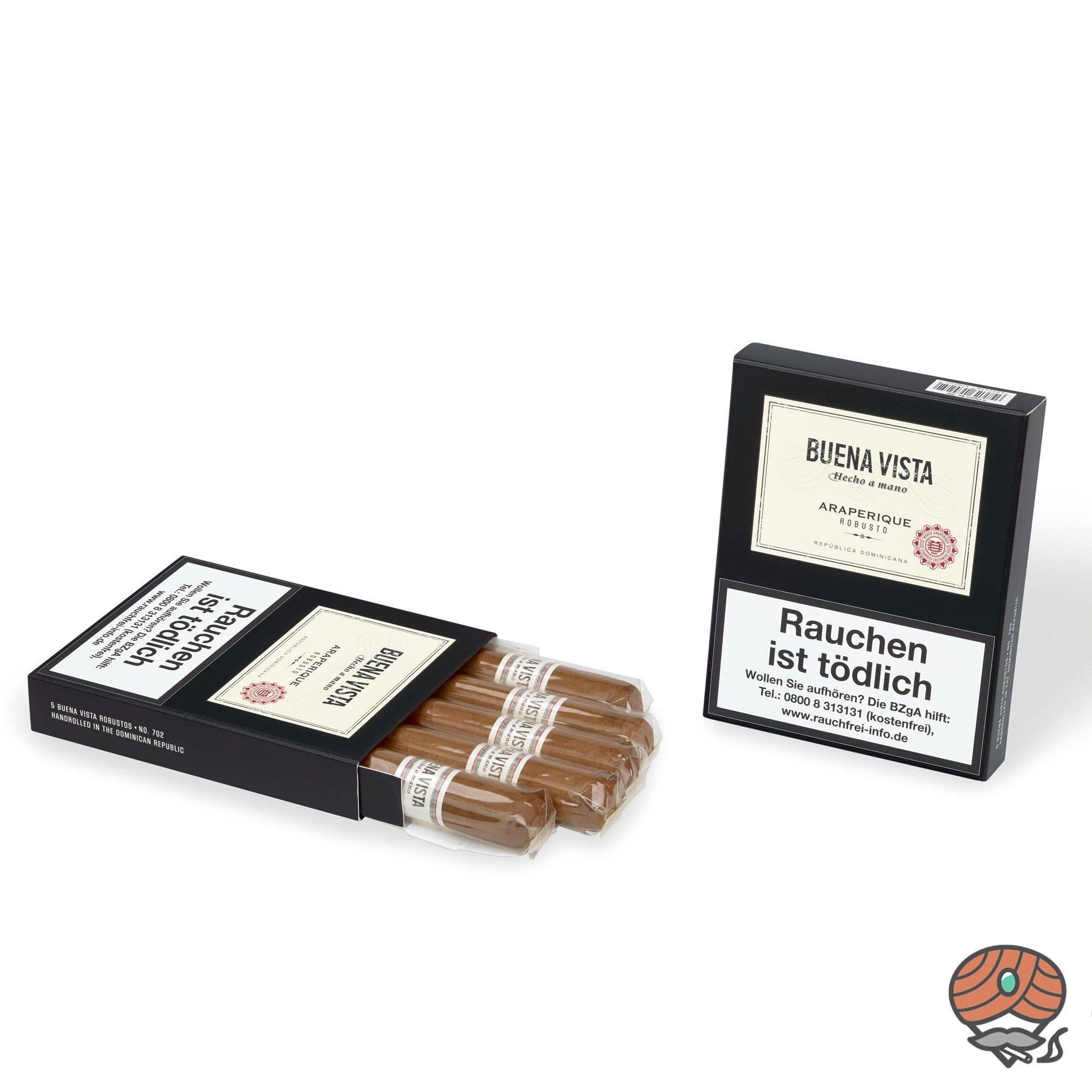 Buena Vista Araperique Robusto Zigarre Dominikanische Republik 5er Pack