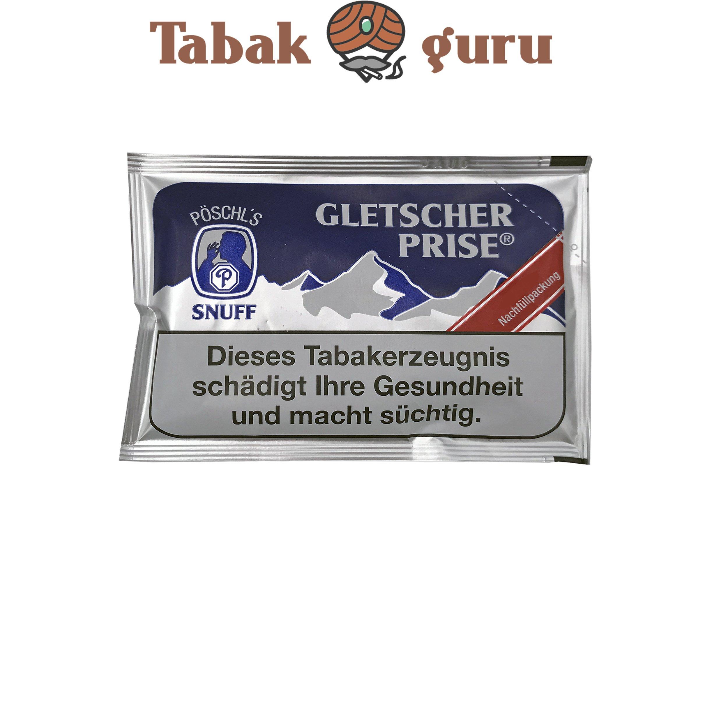 Gletscher Prise Snuff Schnupftabak 25g Beutel