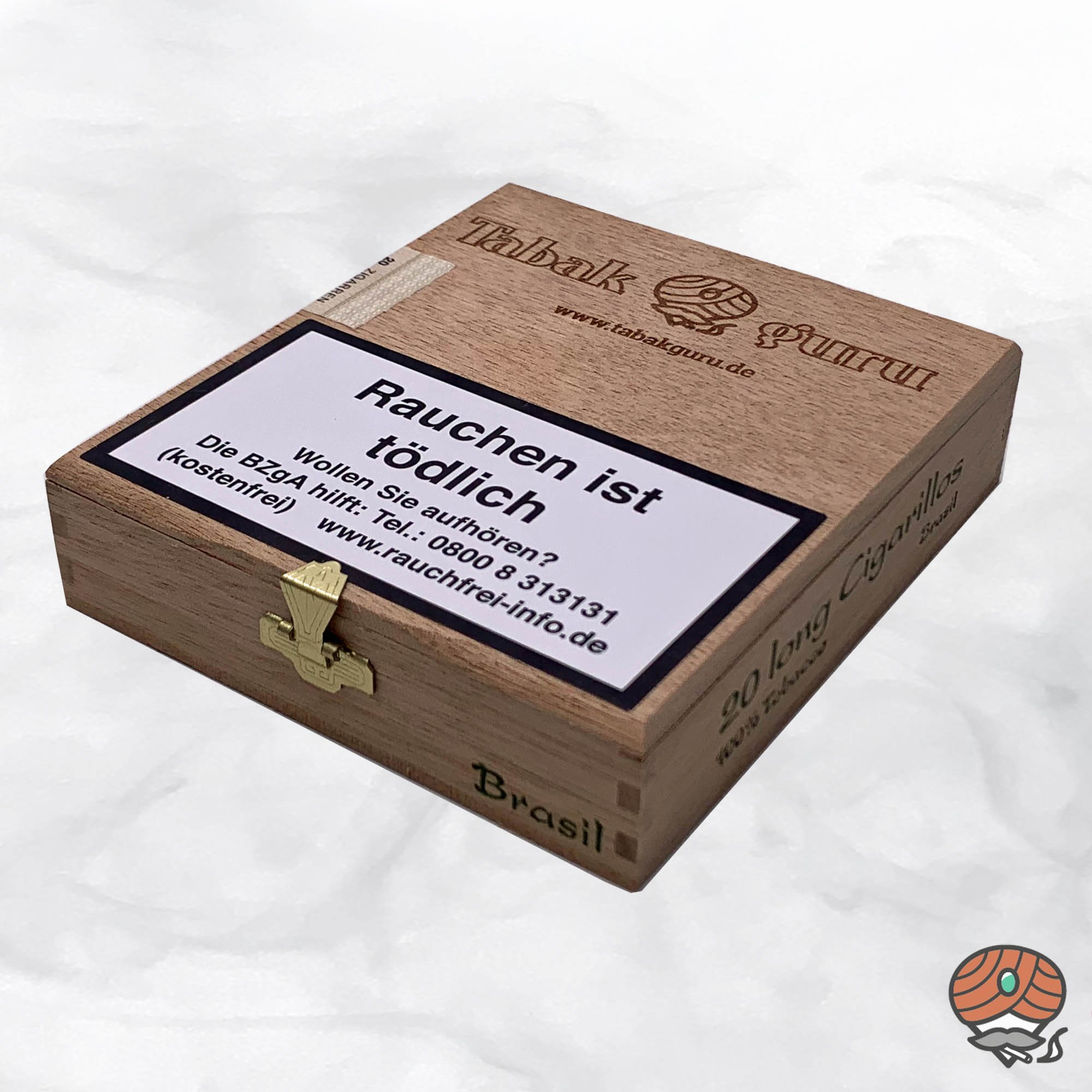 20 Tabakguru Long Zigarillos Brasil