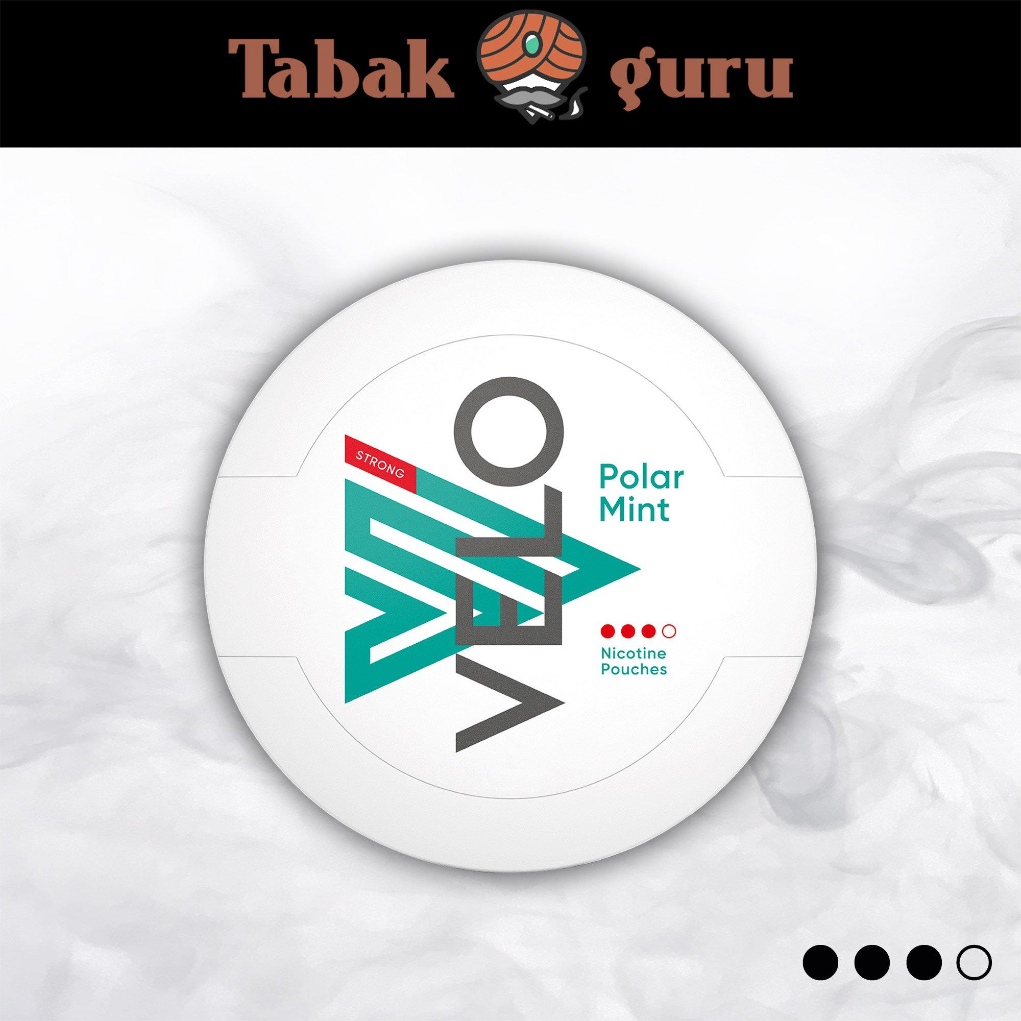 VELO Polar Mint Strong Kautabak Intensität 3